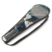 Badmintonset in tas