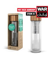 LoyalTea thee to go infuser met War Child bijdrage