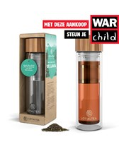 LoyalTea thee to go infuser incl. losse thee met War Child b
