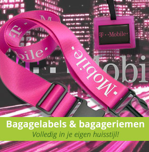 Custom made bagageriemen en kofferlabels