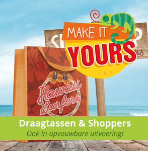 Custom made draagtassen en shoppers