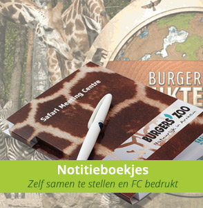 Custom made notitieboekjes