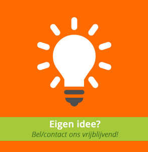 Eigen idee of ontwerp custom made product?